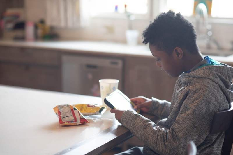 Photo of a boy in foster care in Alabama.