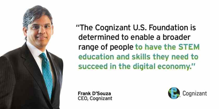The Cognizant US Foundation is helping to increase the number of Southeastern women in tech.