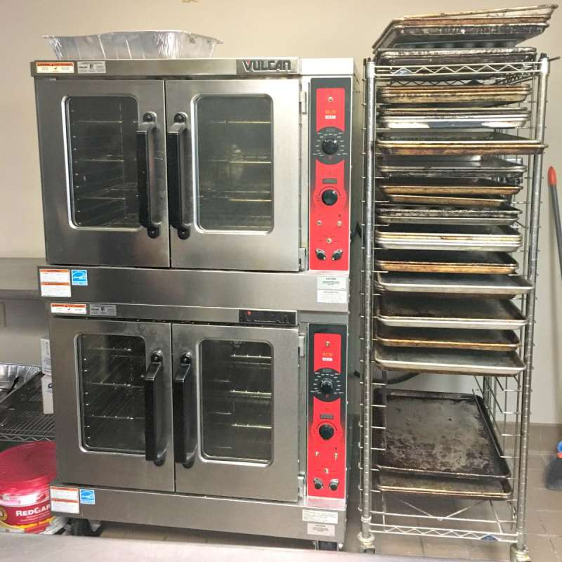Chabad has some big ovens for all that baking.