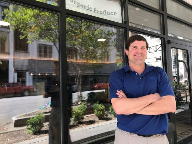 Jeff Gentry is one of the founders and partners of Harvest Market.