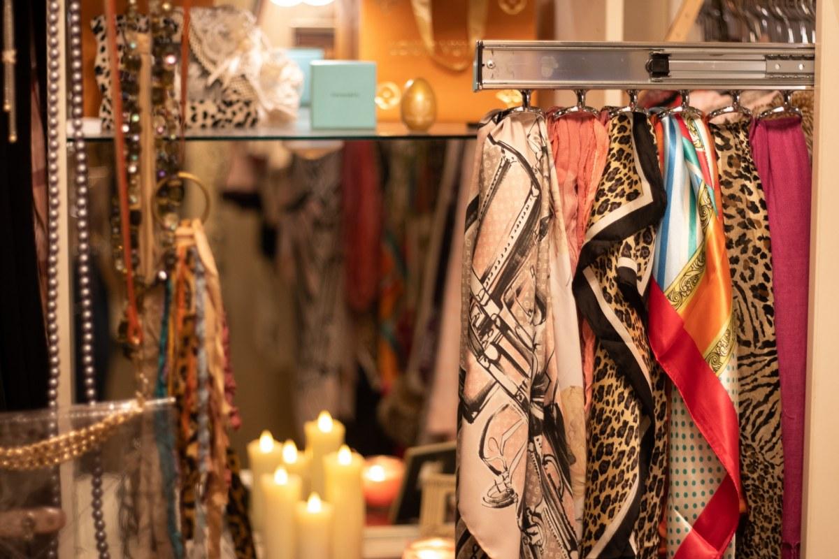 Peek into this Birmingham Mom's designer closet.  11 details that make it super special.
