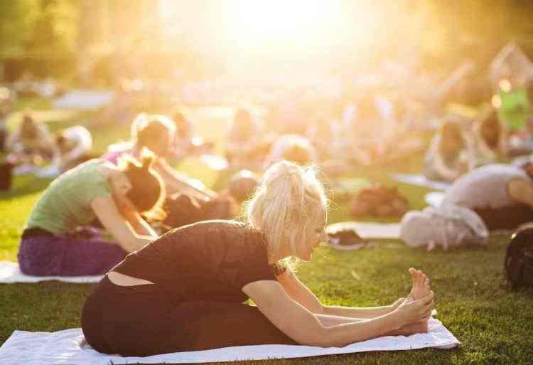 Birmingham, Yoga, Shipt Yoga on the Green