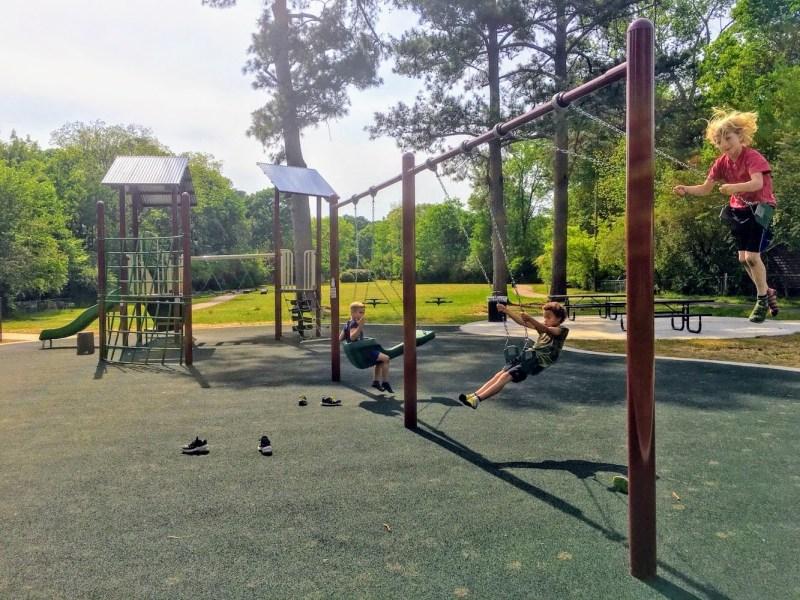 """""""Hidden Park"""" is right in the heart of Birmingham's Crestline neighborhood."""