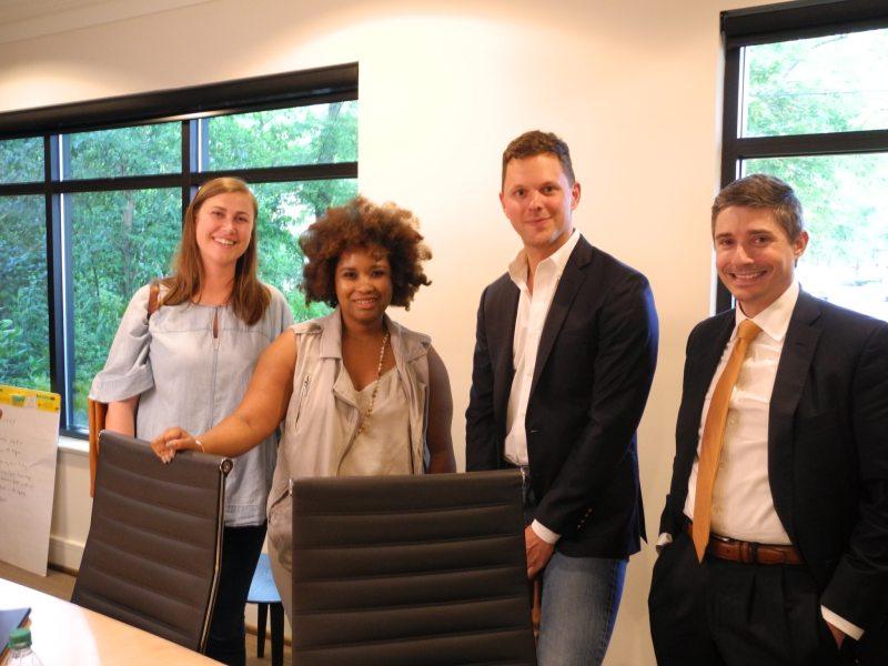 Members of the Catalyst Funds Fellowship program. Birmingham, Alabama