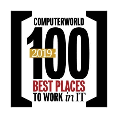 Computerworld's 100 Best Places to Work in IT 2019 logo