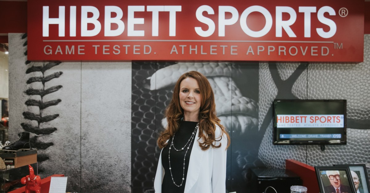 Jennifer Dempsey shares her personal story of juggling a career at Hibbett Sports with completing an EMBA