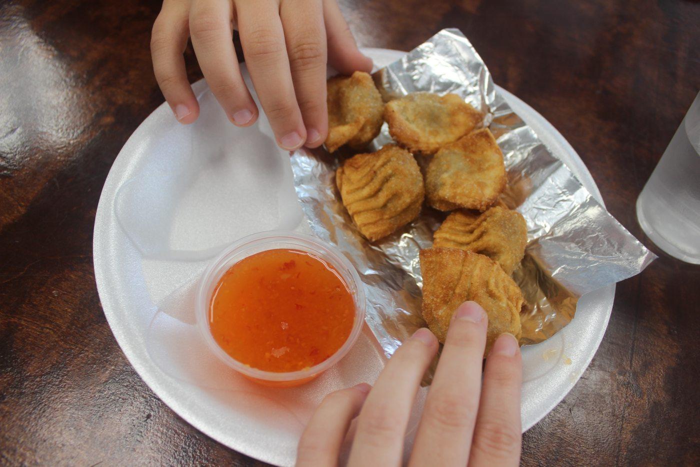 Blue Pacific dumplings
