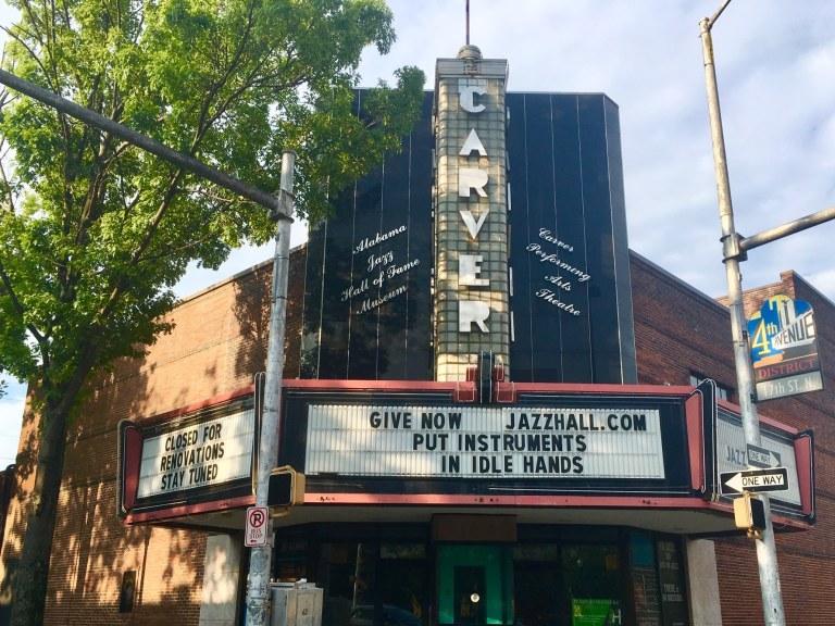 Carver Theatre, 4th Avenue Business District