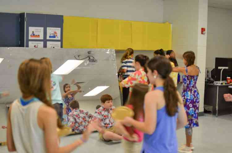 Matilda bootcamp at Berry Middle School