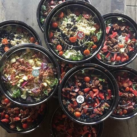 Salads from Urban Cookhouse, Birmingham, AL.