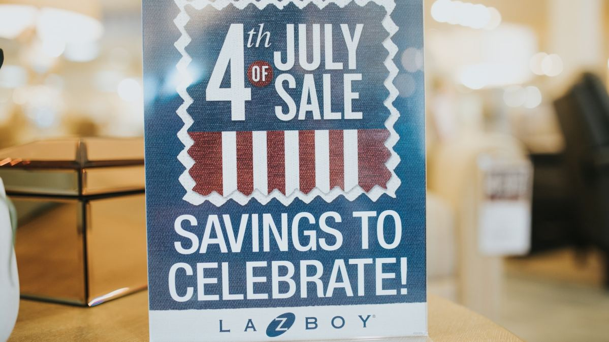 American Made: Shop local at La-Z-Boy Furniture Galleries of Birmingham! Get 20% off for the 4th