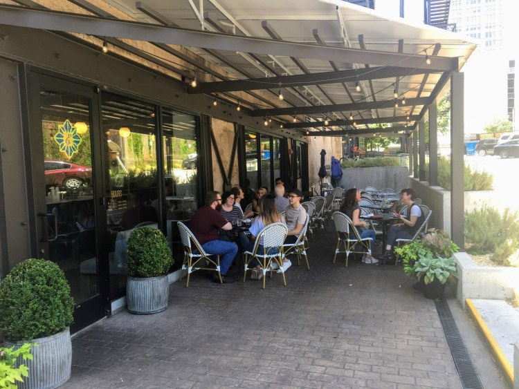 Check out this patio at The Essential at Founders Station.