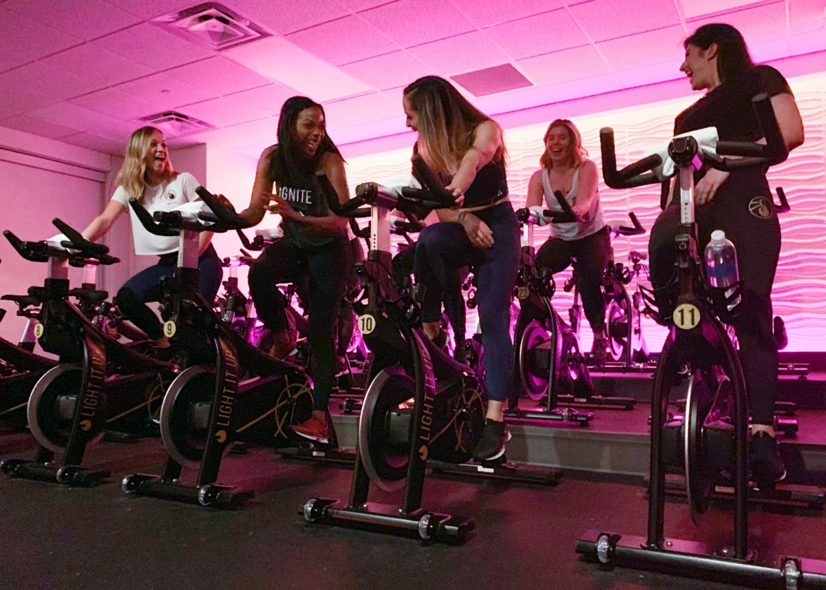 Learn 5 ways Ignite Cycle makes you healthier. Get 20% off a ride with code BHAMNOW20
