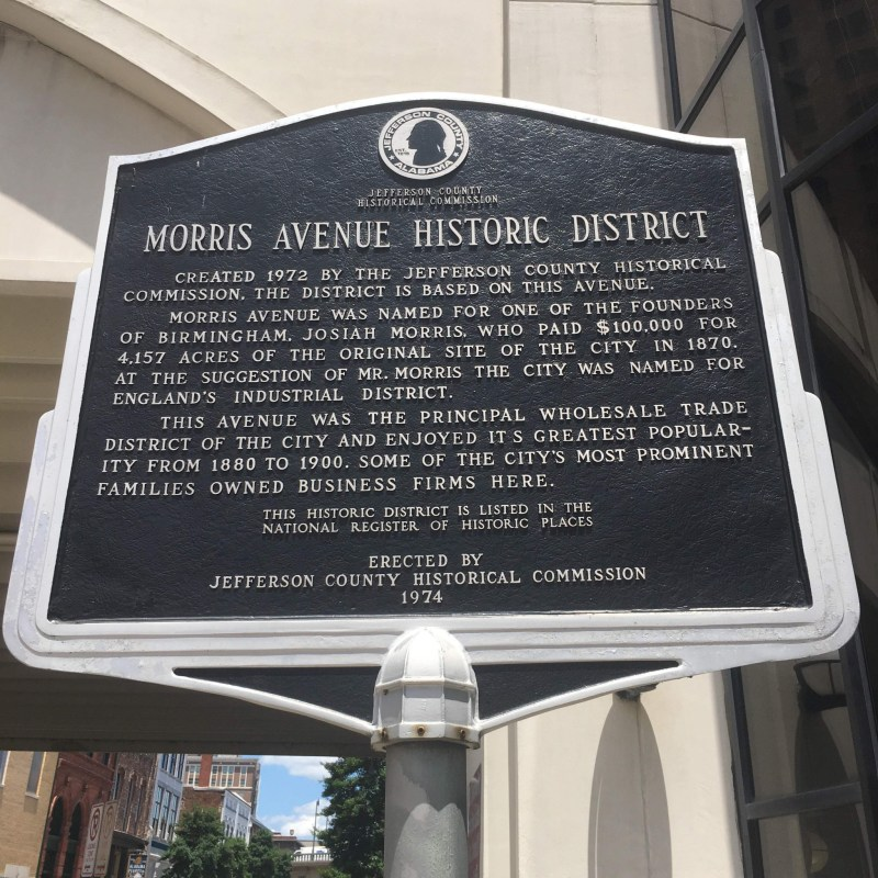 Morris Avenue was the state of Alabama's first historic district.