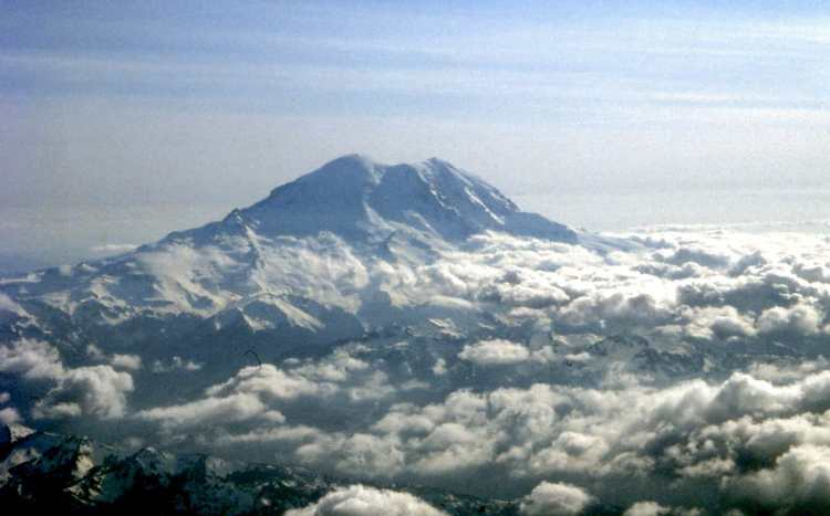 Mt. Ranier, in Washington State, is a good place to get experience for Everest.
