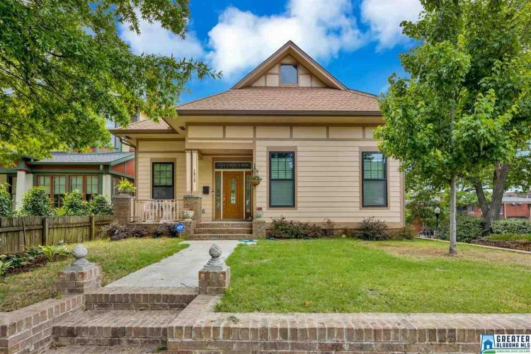 Check out this sweet house in Birmingham's Southside Community.