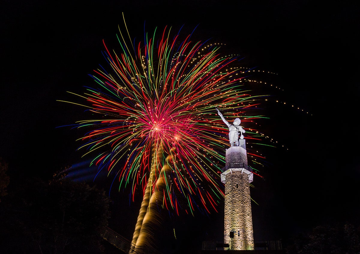 Your ultimate guide to the Fourth of July Alabama Bicentennial Fireworks Show at Vulcan Park and Museum. Watch parties, tips and photo contest!