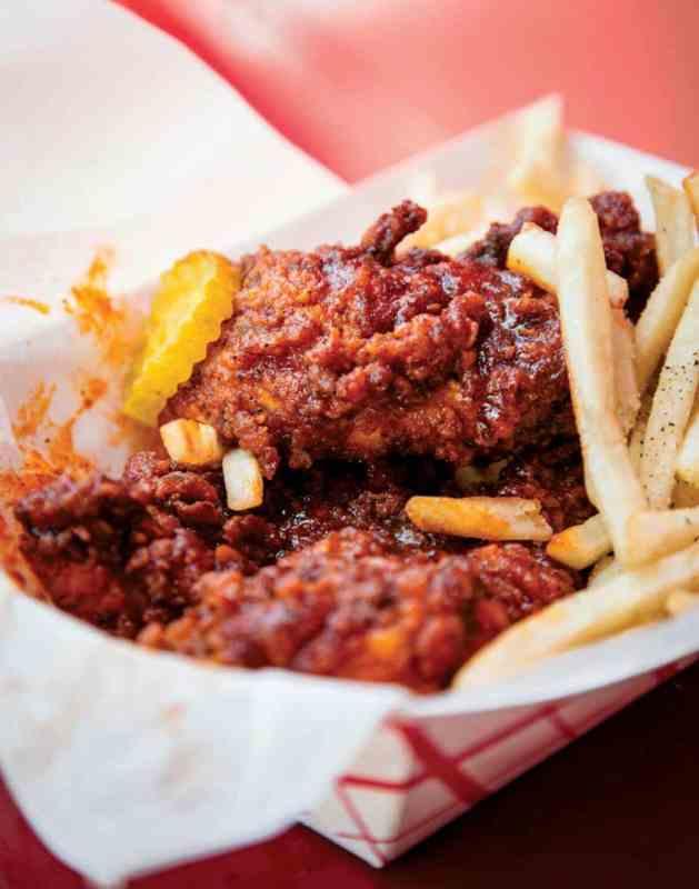 Eugene's Hot Chicken is one of 7 restaurants in Uptown Birmingham.