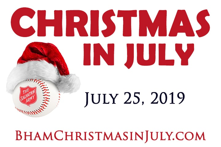 Christmas In July @ The Birmingham Barons