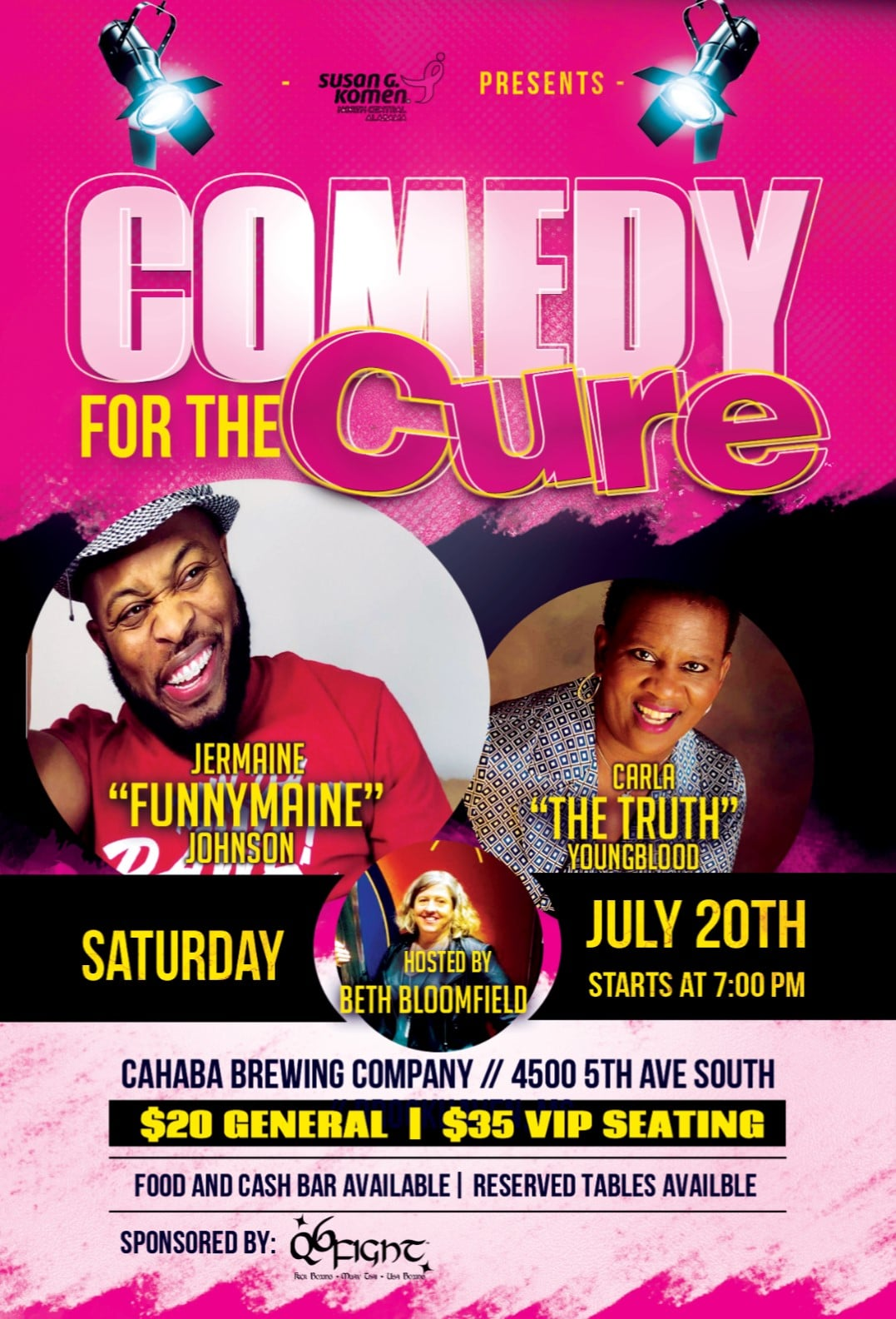 Comedy for the Cure