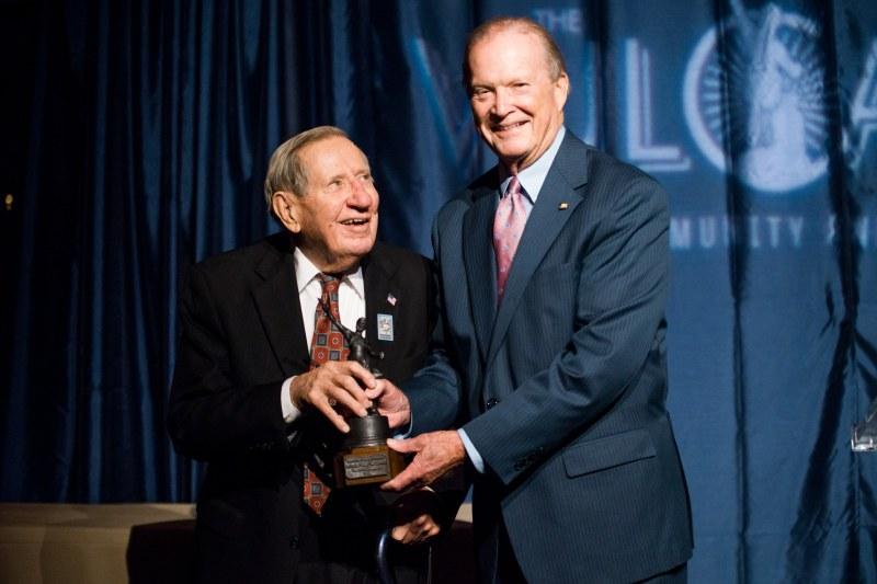 "Dr.Charles ""Scotty"" McCallum Jr. receiving The Vulcans Lifetime Achievment Award by Alabama Senator Jabo Waggoner"