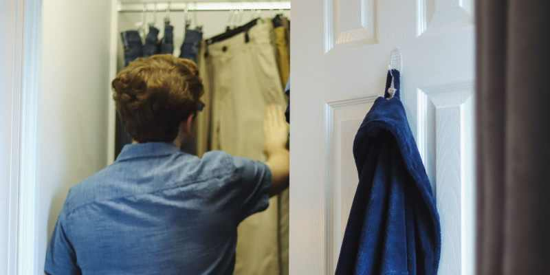 One Birmingham mom had a custom closet designed and built for her teenage son.