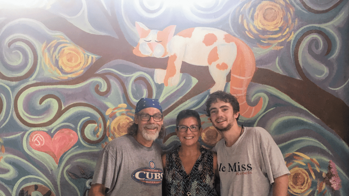 Gatos and Beans, Alabama's 1st cat café, opening  August 1 in Avondale. Mural photos!