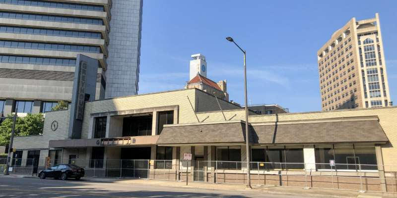 The old Greyhound Station in downtown Birmingham has been vacant for quite some time.