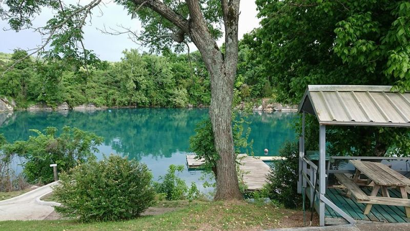Submerged quarry