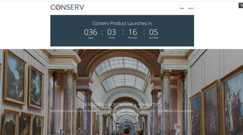 Conservation Studio is a free platform Conserv has developed for art and cultural collections conservators.