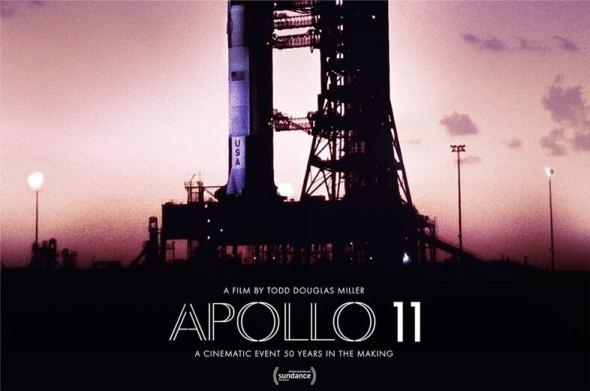 Apollo 11 film documentary poster