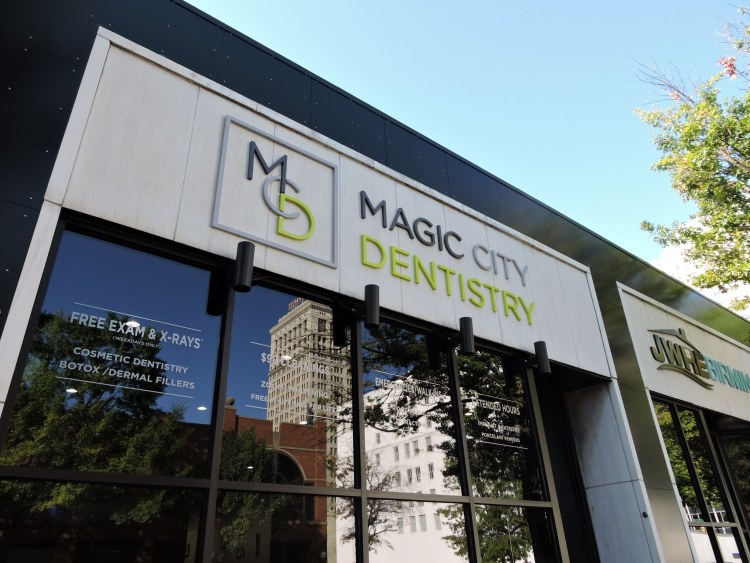 Magic City Dentistry facade