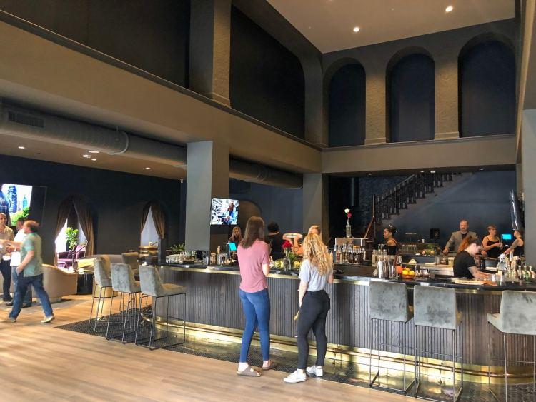 Public bar area