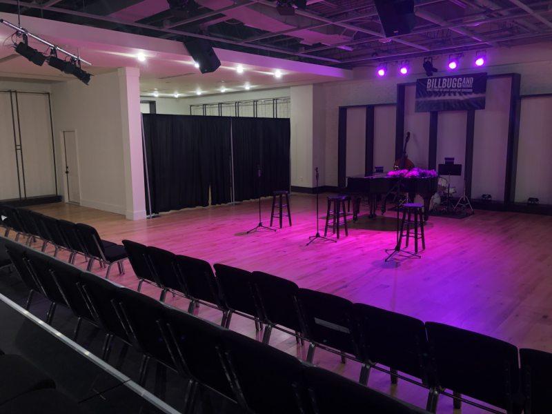 Inside new Homewood Theatre