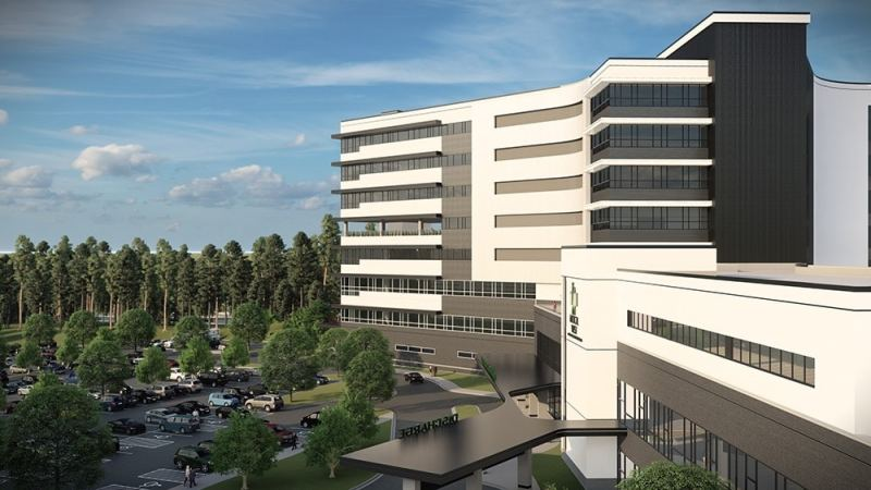 Concept drawing new hospital McCalla