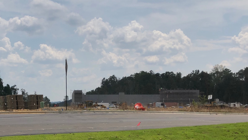 Publix being constructed at The Bray, liberty Park