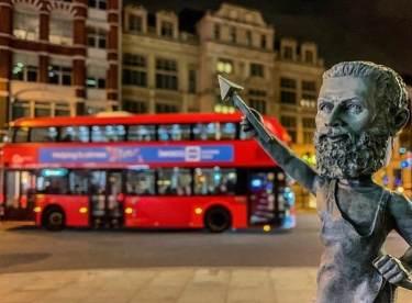 A Vulcan Bobblehead in London, England