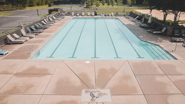 Carrington Lakes has a Junior Olympic pool.