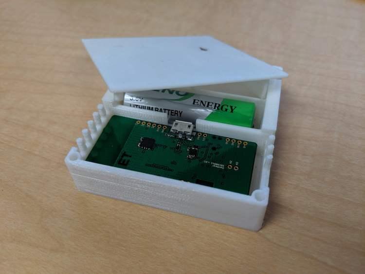 One of Conserv's sensors.
