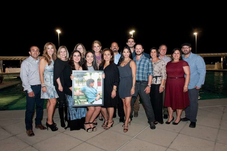 Ajlouny family at 2015 Daniel Project Benefit