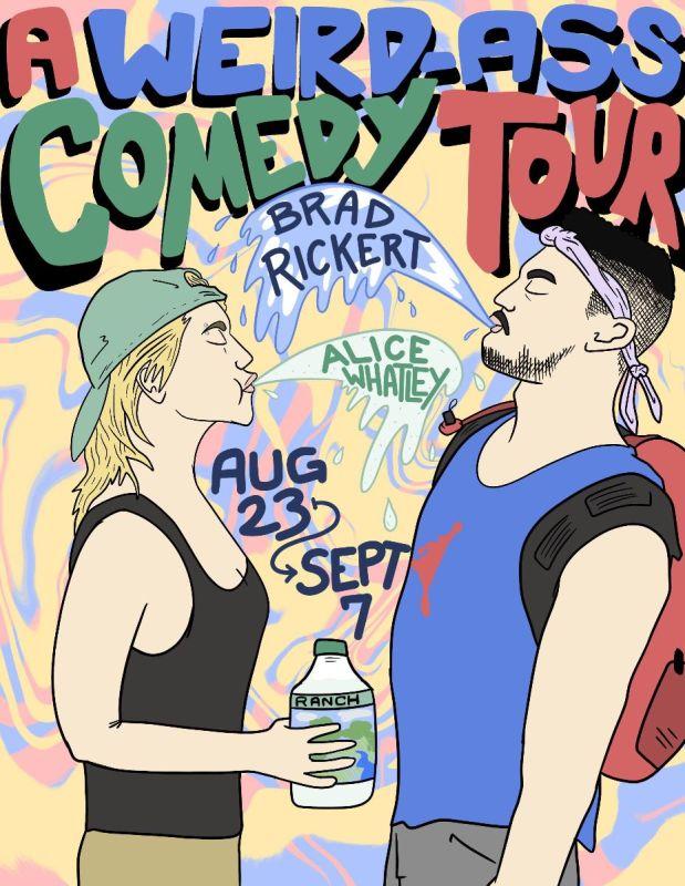 Weird-a** comedy show