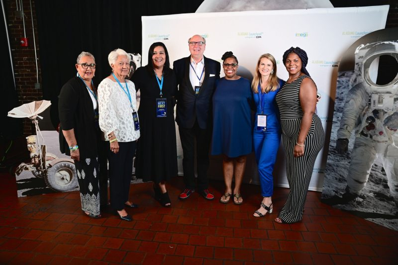 Hidden Figures family members at imerge2019