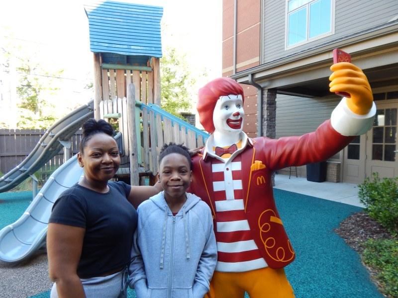 Ronald McDonald House and Grayson Family
