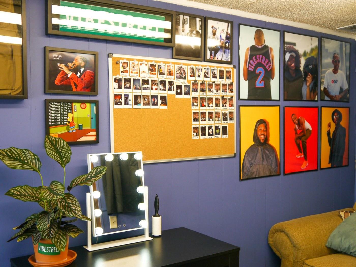 Office Wall at Vibestreet Studios
