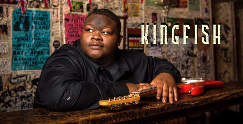 """Poster for Christone """"Kingfish"""" Ingram, who will be performing at Vulcan AfterTunes on October 6th."""