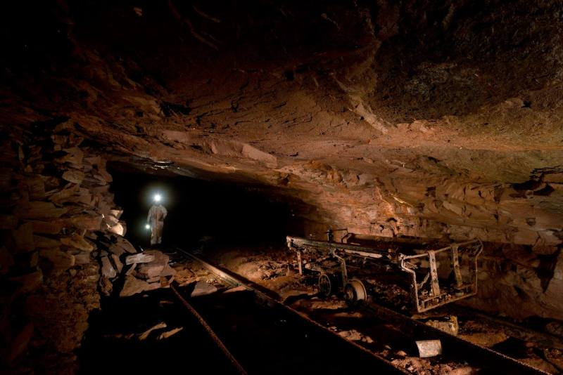 The abandoned mines at Ruffner Mountain make a perfect hangout spot for Birmingham's bats. Photo from Ruffner Mountain.