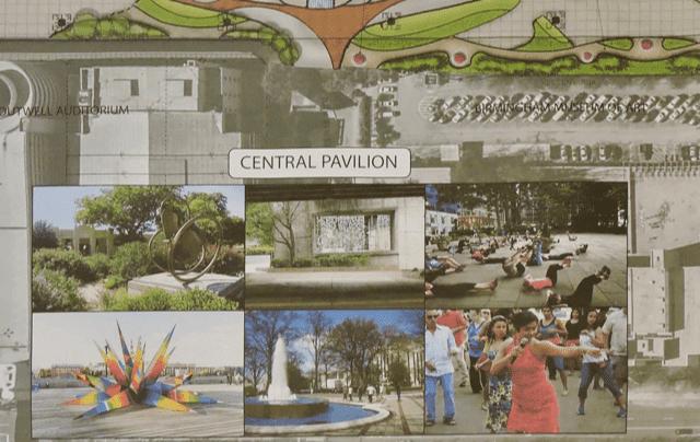 Central pavilion ideas