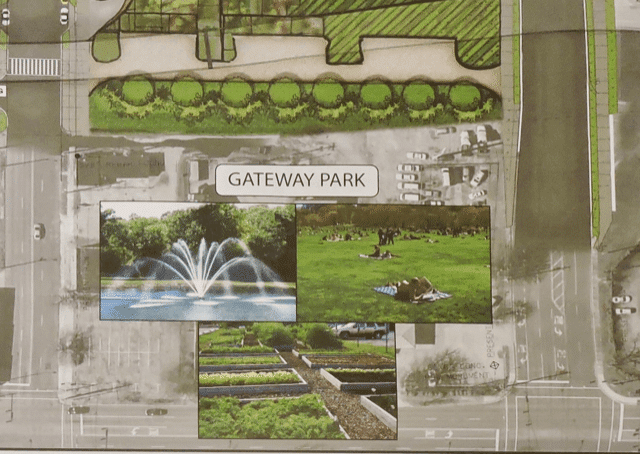 proposed gateway park as part of CityWalk BHAM