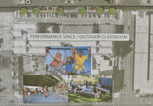 performance space at CityWalk BHAM