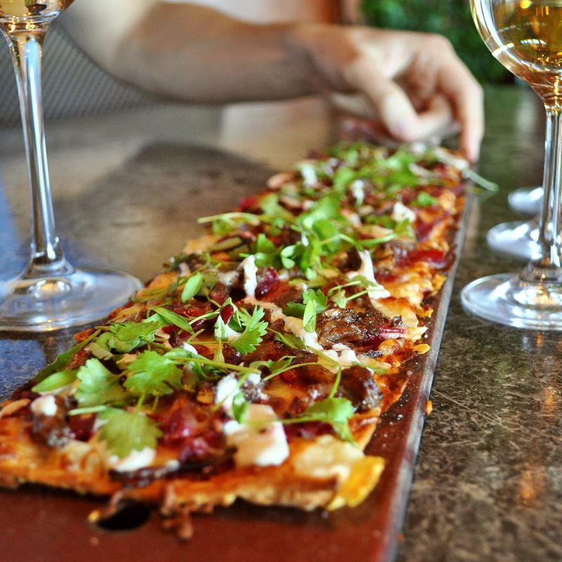 Birmingham, Seasons 52, gluten free, gluten-free pizza, gluten sensitive, flatbreads, food, pizza, gluten-free pizza